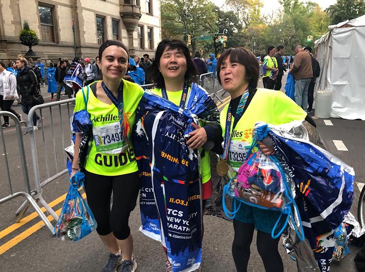 ニューヨークシティマラソン写真
